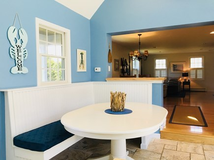 Chatham Cape Cod vacation rental - Kitchen includes seating area, great for kids!