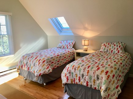 Chatham Cape Cod vacation rental - Upstairs kids room with 2 twins and skylight