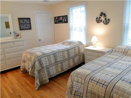 Chatham Cape Cod vacation rental - Main floor twin bedroom - Guest Room for the kids!
