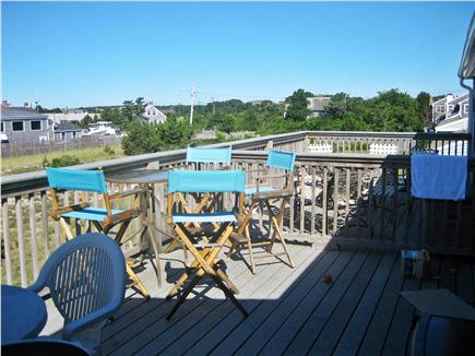 Chatham Cape Cod vacation rental - Back deck
