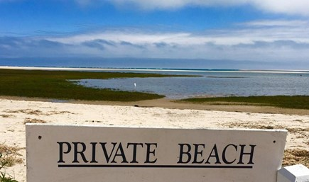 Chatham Cape Cod vacation rental - Private Beach 50 yards from Condo