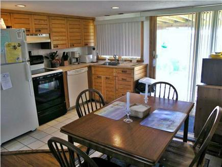 Chatham Cape Cod vacation rental - Kitchen w/ dishwasher, stove, fridge, microwave, table for 6