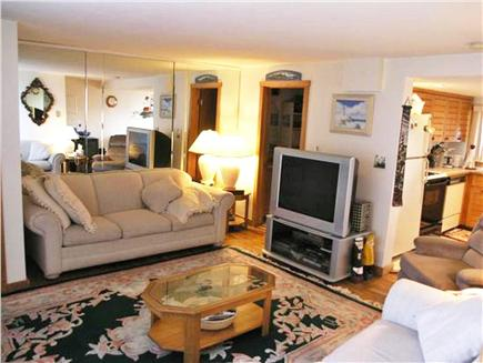 Chatham Cape Cod vacation rental - Living Room with 2 sofas (one a pullout sofa), TV/DVD, Wi-Fi