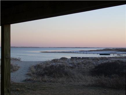 Chatham Cape Cod vacation rental - Sunset from behind the back patio