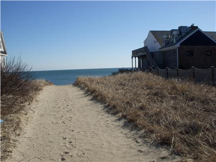 dennisport Cape Cod vacation rental - Depot St. Beach is only 120 yards away