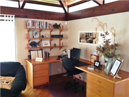 Truro Cape Cod vacation rental - Office space with WiFi
