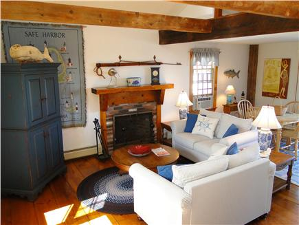 Dennis Cape Cod vacation rental - Spacious TV room, water views