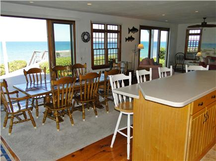 Dennis Cape Cod vacation rental - Full water views between kitchen, dining, living rooms