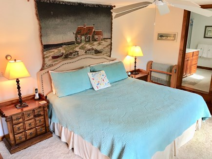 Dennis Cape Cod vacation rental - Upstairs king bedroom with full bath