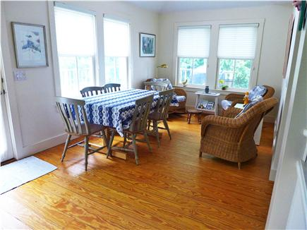 Osterville Osterville vacation rental - Sunny dining area.