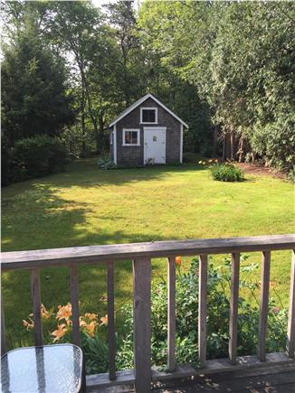 Osterville Osterville vacation rental - Peaceful backyard
