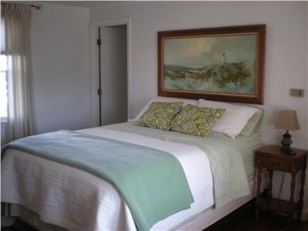 East Falmouth Cape Cod vacation rental - Master bedroom & bath with queen bed