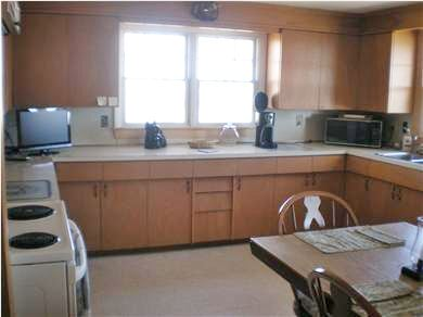 East Falmouth Cape Cod vacation rental - Large eat-in kitchen