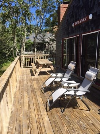 Chatham Cape Cod vacation rental - Relaxing on the top deck