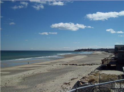Plymouth ~ White Horse Beach MA vacation rental - View of ''Manomet Point'' from yard & deck.