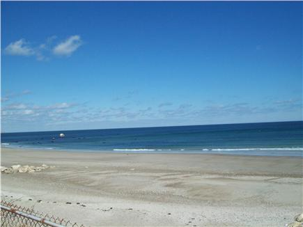 Plymouth ~ White Horse Beach MA vacation rental - View of ''Flag Rock'' from deck.
