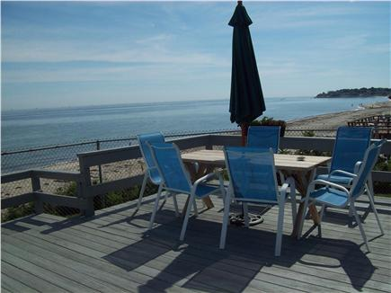 Plymouth ~ White Horse Beach MA vacation rental - Home facing ocean.