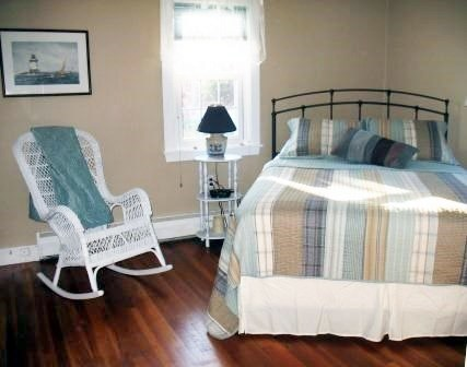 Eastham Cape Cod vacation rental - Bedroom-decorated in soothing tones of blue and beige