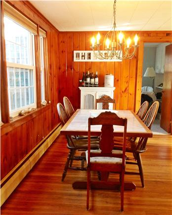 Eastham Cape Cod vacation rental - Dining area with plenty of seating open to living room