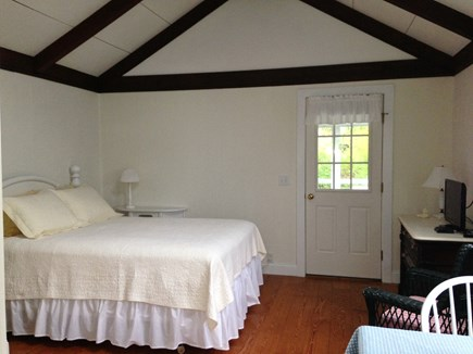 East Dennis - Sesuit Neck  Cape Cod vacation rental - Sleeping area with queen-size bed, cable TV