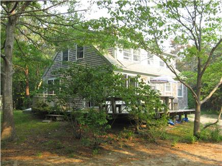 Orleans Cape Cod vacation rental - Exterior view with wrap-around deck