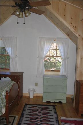 Orleans Cape Cod vacation rental - Upstairs 3 twins bedroom, other view, with ceiling fan