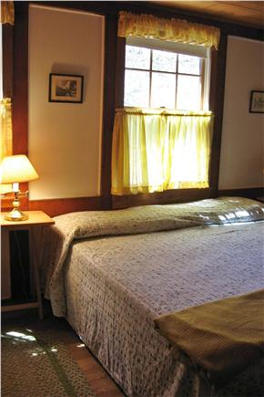 Orleans Cape Cod vacation rental - Downstairs bedroom wiith king bed (or twins)