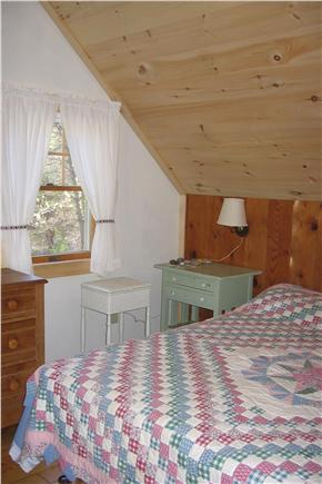 Orleans Cape Cod vacation rental - Upstairs king (2 twins) bedroom with ceiling fan