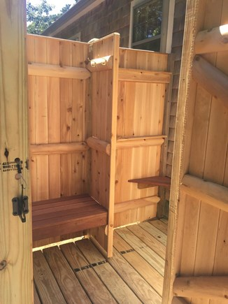 Chatham Cape Cod vacation rental - New for 2017: Expanded Outdoor Shower!