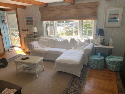 Chatham Cape Cod vacation rental - Comfortable living room space with large television.