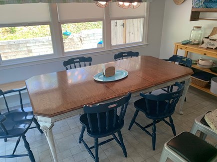 Chatham Cape Cod vacation rental - Dining room seats 8, plus counter with stools.