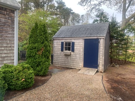 Chatham Cape Cod vacation rental - Store all your outdoor toys and sandy beach equipment in shed.