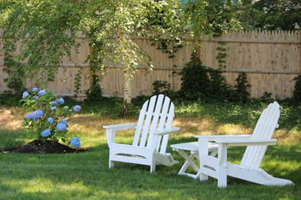 Yarmouth Cape Cod vacation rental - Outdoor Sitting Area