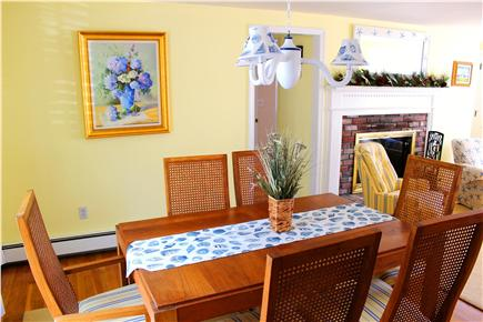 Yarmouth Cape Cod vacation rental - Dining Room (Picture June, 2014)