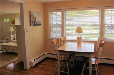 Yarmouth Cape Cod vacation rental - Kitchen Eating Area (Taken Summer, 2015)