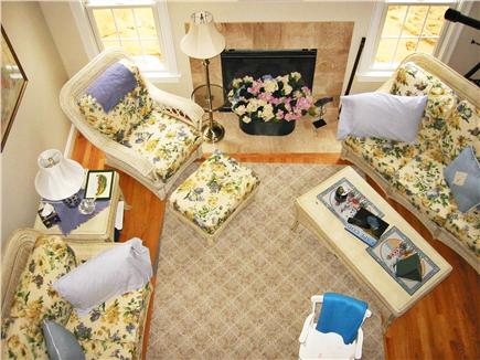 Brewster Cape Cod vacation rental - View of living room from above