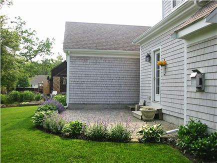 Brewster Cape Cod vacation rental - Back patio