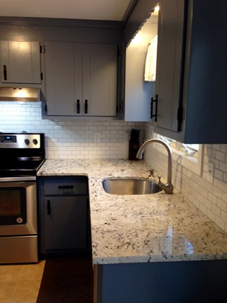 South Yarmouth Cape Cod vacation rental - Granite Counter Tops, New Stainless Steel Sink and Faucet