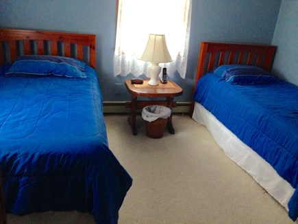 South Yarmouth Cape Cod vacation rental - Twin Beds and Bedding with Flat Screen TV