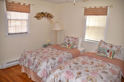 South Yarmouth Cape Cod vacation rental - Soothing ''peach'' bedroom is perfect for a good night's sleep