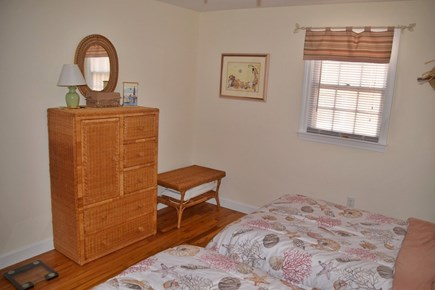 South Yarmouth Cape Cod vacation rental - ''Peach'' room has a closet and faces the front of the house