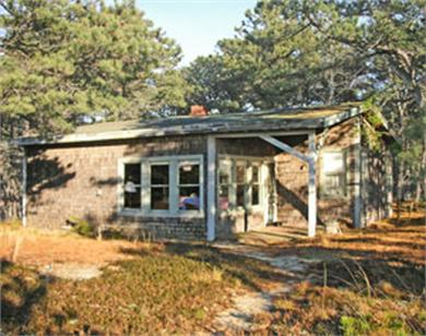 Wellfleet Cape Cod vacation rental - Simple, charming home with wonderful water views