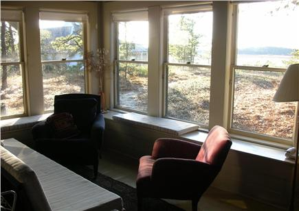 Wellfleet Cape Cod vacation rental - The living room offers beautiful water views