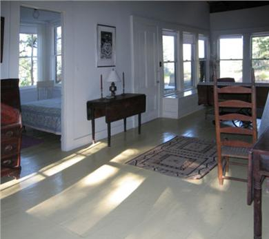 Wellfleet Cape Cod vacation rental - The living room