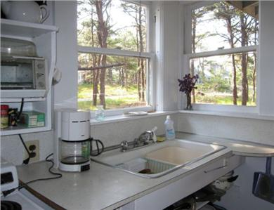 Wellfleet Cape Cod vacation rental - View from the kitchen