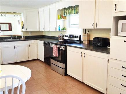 Orleans Cape Cod vacation rental - Large Eat-in Kitchen open to dining room and living room