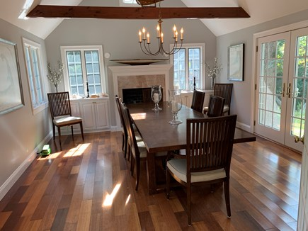 Eastham Cape Cod vacation rental - Very bright dinning room, large table (we have seated 14).