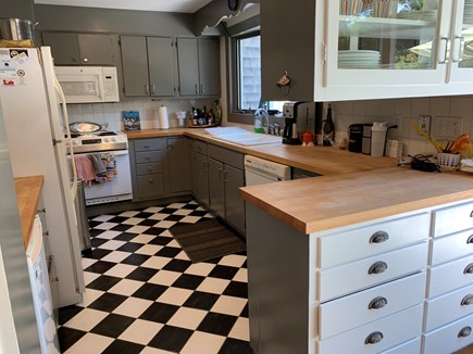 Eastham Cape Cod vacation rental - Country kitchen; well equipped; lacks nothing.
