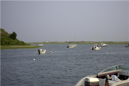 Chatham Cape Cod vacation rental - Looking towards Nantucket Sound and Stage Harbor lighthouse