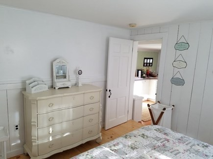 Chatham Cape Cod vacation rental - Rear bedroom view to kitchen